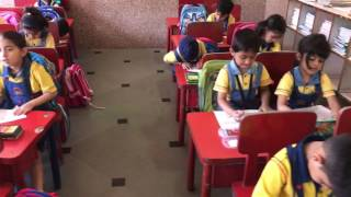 KR Mangalam World School GK-II, Class-I  Means of Transport/ Drawing and Colouring Activity