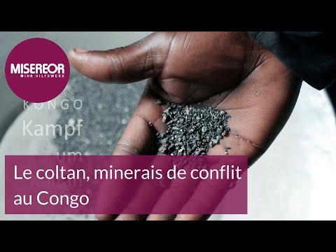 Le coltan, minerais de conflit au Congo