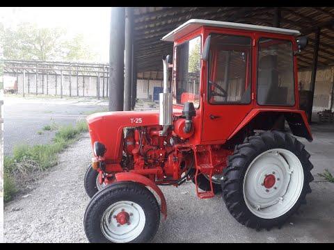 Капитальный ремонт трактора Т-25 1973 г.в