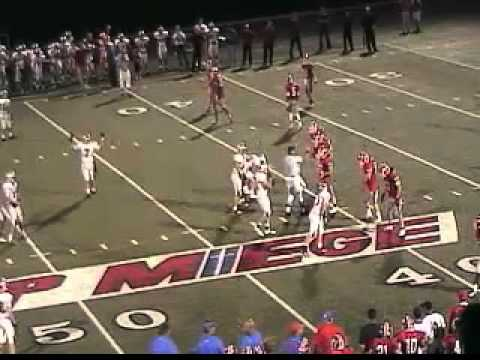 Bishop Miege vs. Blue Valley West high school football 10.7.11