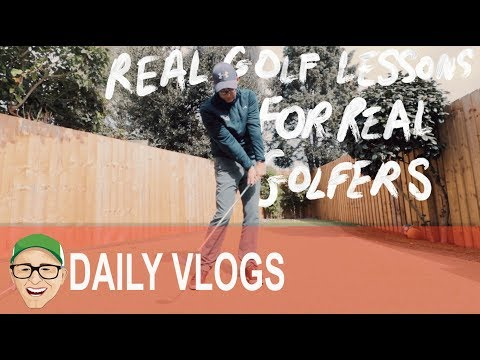 REAL GOLF LESSONS FOR REAL GOLFERS