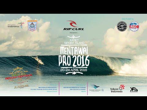 Mentawai Rip Curl Pro 2016 Live Stream