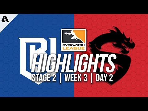 Boston Uprising vs Shanghai Dragons | Overwatch League Highlights OWL Stage 2 Week 3 Day 2