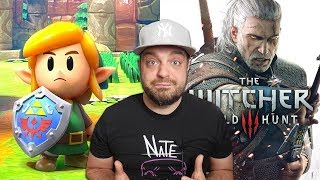 Modders FIX Link's Awakening for Switch + Witcher 3 Scores BIG!