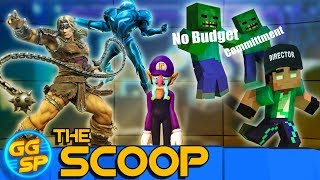 New Smash Bros. Fighters Revealed, Minecraft Movie Delayed, And More! | The Scoop