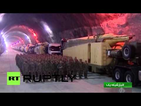 'Only the tip of the iceberg': Secret Iran underground base shown to media is just one of many