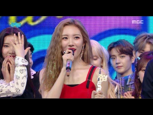 [HOT] 9월 3주차 1위 '선미 - 사이렌 (SUNMI - Siren)' Show Music core 20180922