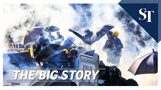THE BIG STORY: The cost of the Hong Kong protests  | The Straits Times
