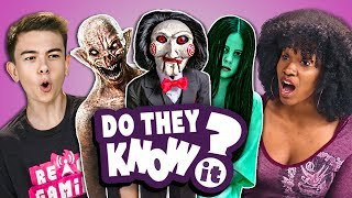 Download Do Teens Know 2000s Horror Films? (React: Do They Know It?) Mp3 and Videos