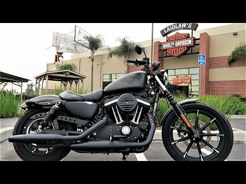 2018 Iron 883 Harley-Davidson Review & Test Ride