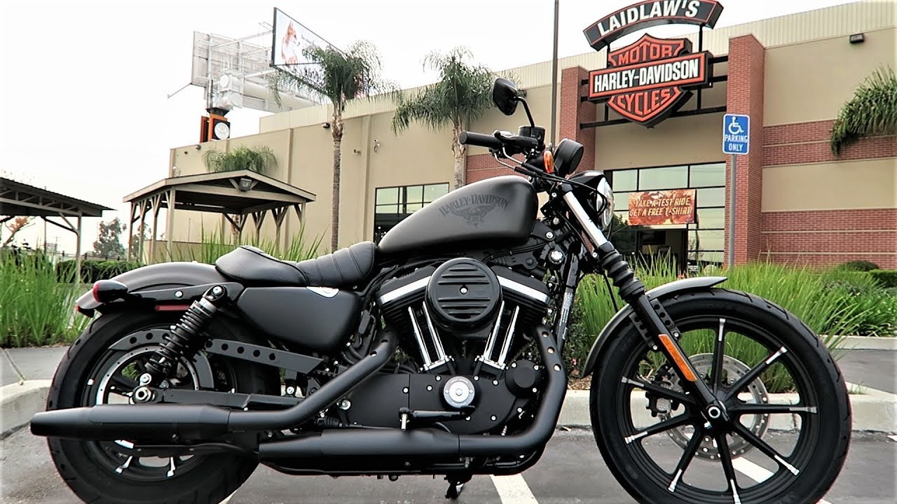 2018 Iron 883 Harley-Davidson Review & Test Ride (XL883N) - YouTube