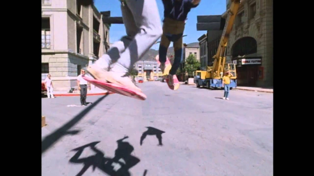 back to the future ii extra hoverboard tests youtube. Black Bedroom Furniture Sets. Home Design Ideas