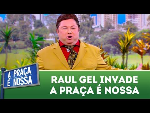 Raul Gel invade estúdio da Praça | A Praça é Nossa (16/08/18)