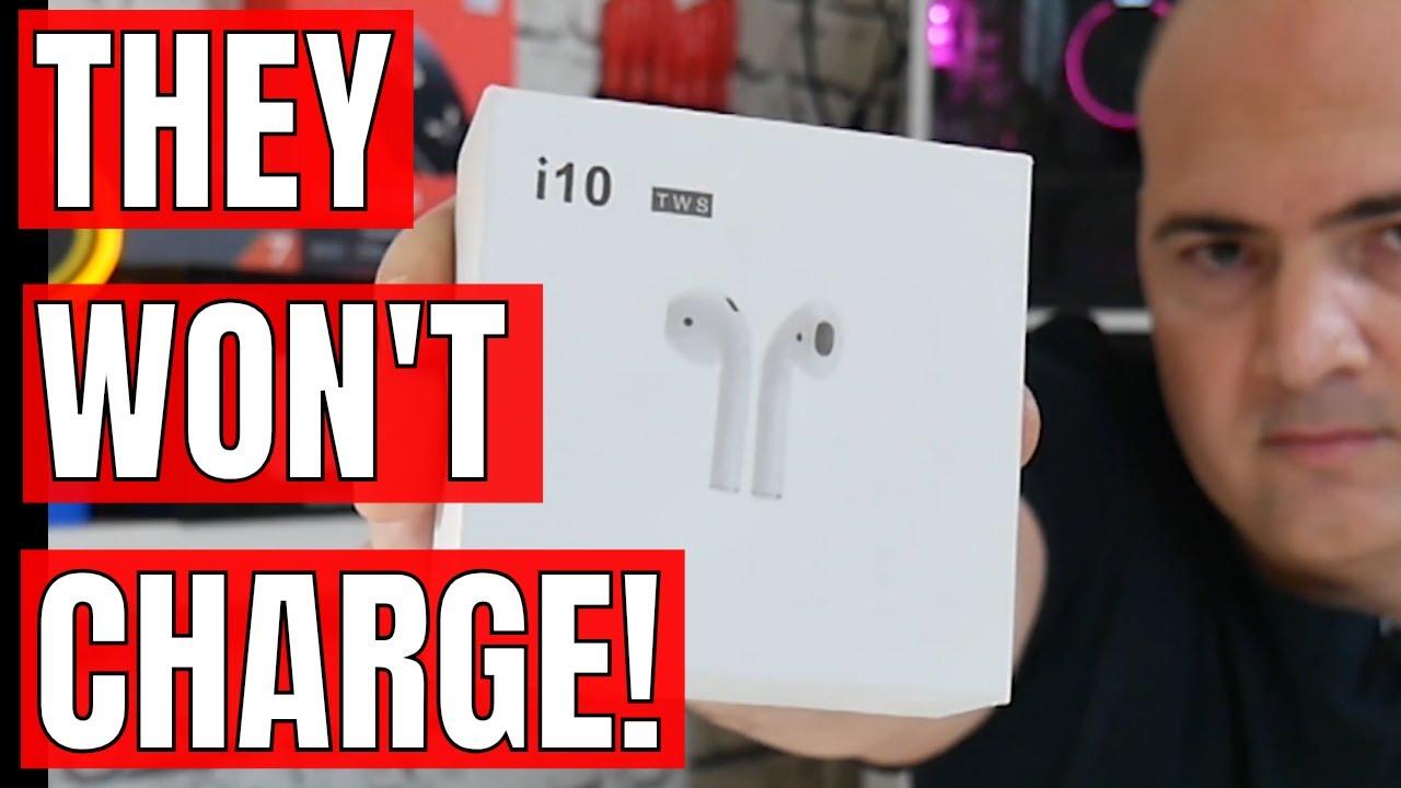 Airpod & i10 TWS Not Charging FIXES