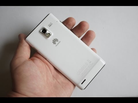 Обзор Huawei Ascend P1 (review)