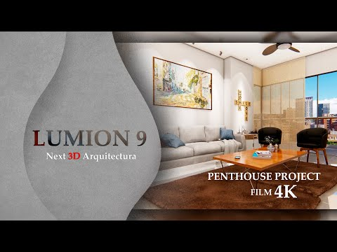 LUMION 9 / FILM ANIMATION / PENTHOUSE PROJECT