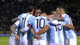 ملخص مباراة الارجنتين وتشيلي 3_1 روعة ميسي شاهد روعة المباراة