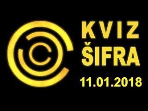 KVIZ ŠIFRA (11.01.2018)