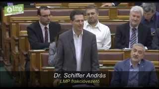 Schiffer András éles szópárbajt vívott Orbán Viktor miniszterelnökkel Simicska Lajosról