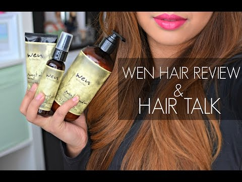 WEN Hair Product Review + HAIR Talk!