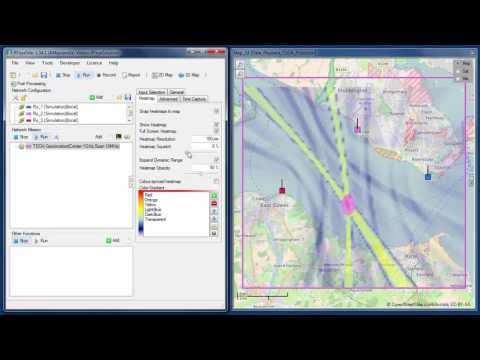 CRFS Software: TDOA Geolocation - YouTube