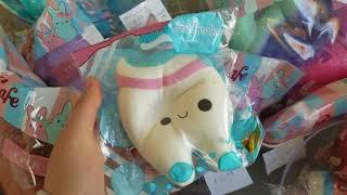 Squishy shop vlog!(Bunny's Cafe)