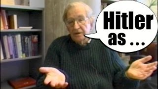 Chomsky Hitler History Lesson