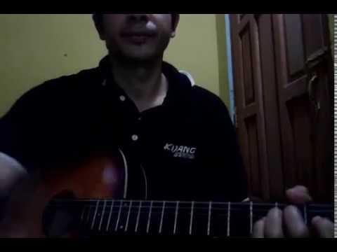 Belajar melodi intro gitar dangdut mimpi terindah