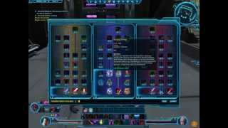 SWTOR How To Reset Your Skill Tree