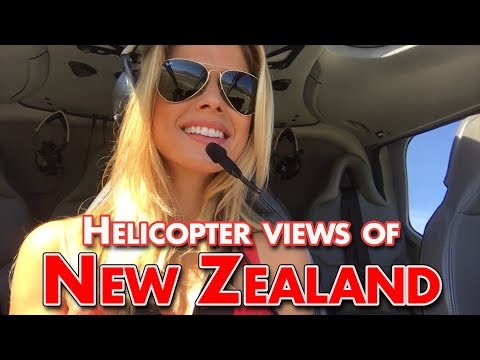 Stunning Helicopter Views of New Zealand!!!!!!!