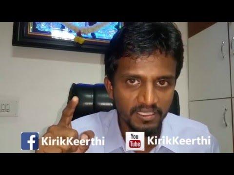 Kirik Keerthi on Non Kannadigas in Bengaluru