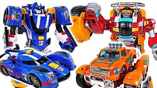 Villains appeared on the dinosaurs! Tobot V Speed, Monster! Protect the PJ Masks!! - DuDuPopTOY