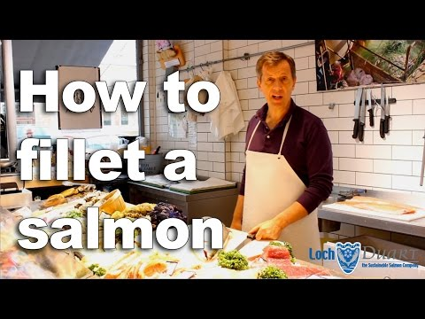 How To Fillet A Loch Duart Salmon With Moxons Fresh Fish