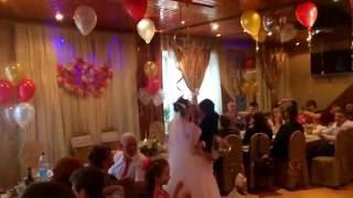 Горько! на свадьбе в банкетном зале Фараон 22.04.2016