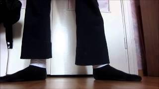 """танцевальное движение майкла джексона """"крана ног"""" обучение"""