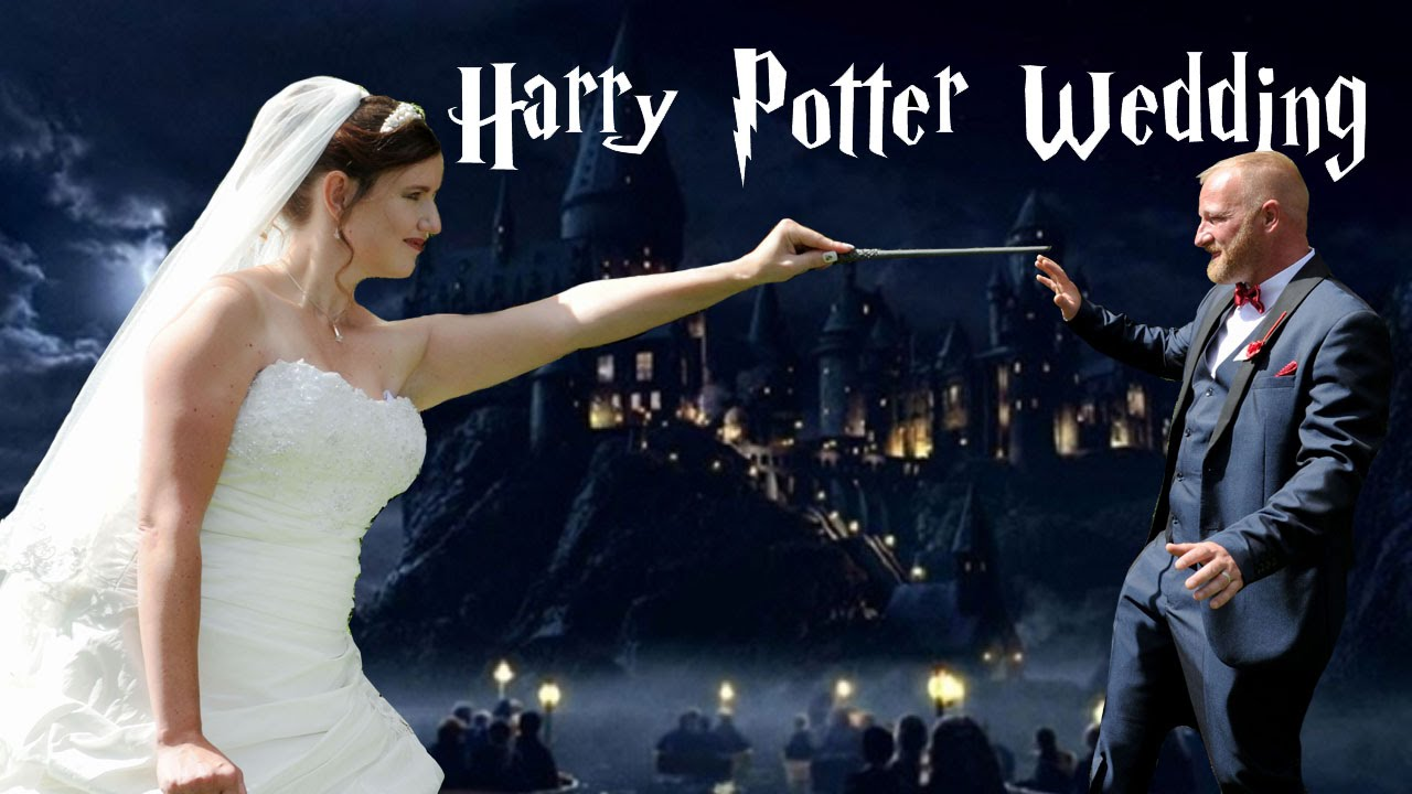 Bride Throws Harry Potter Themed Wedding, Husband Less Than Impressed