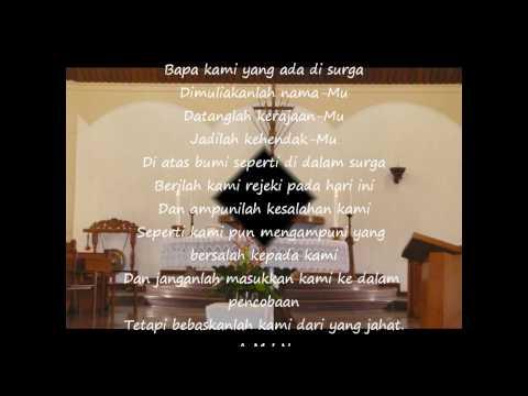 Bapa Kami - Indonesian version of The Lord's Prayer #1