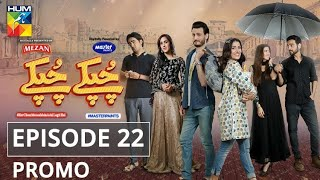 Chupke Chupke Episode 22 | Promo | Digitally Presented by Mezan & Powered by Master Paints | HUM TV