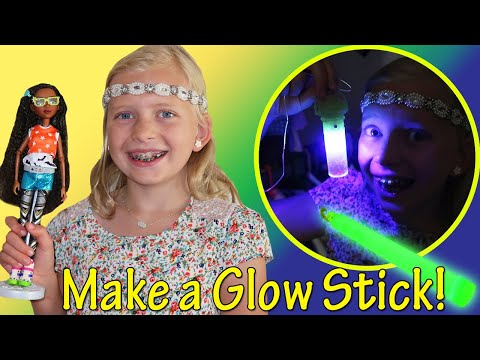 Project MC2 Science Doll Glow Stick Necklace Experiment