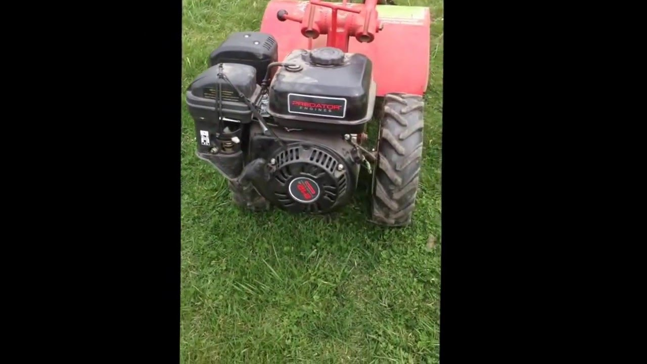 1975 Troy Bilt Horse With Harbor Freight Predator 212cc Engine Brief Review