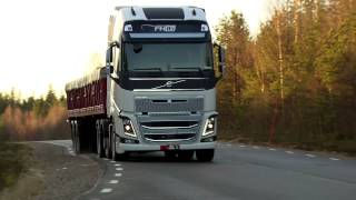 Volvo Trucks - Superior handling is the key to excellent driver comfort (new Volvo FH)