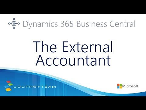 External Account Access in Microsoft Dynamics 365 Business Central