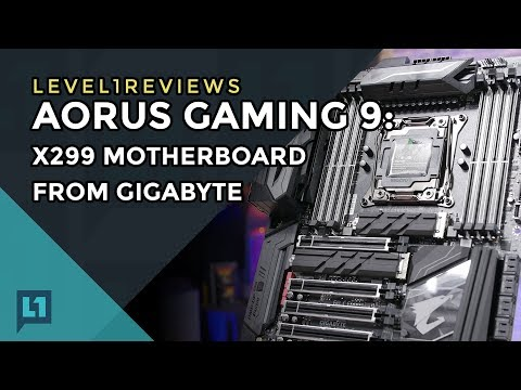 Aorus Gaming 9: X299 Motherboard from Gigabyte + Linux Test