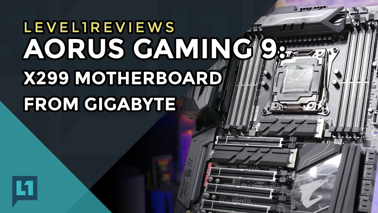 Aorus Gaming 9: X299 Motherboard from Gigabyte + Linux Test (incl IOMMU)