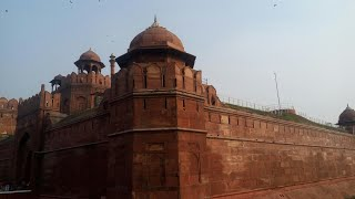 Delhi Red Fort  Vlog 1  EXPLORE THE WORLD