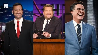 Late Night Hosts Are Stuck On Trump