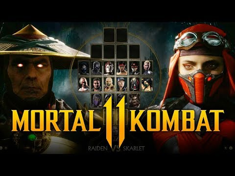 MORTAL KOMBAT 11 - NEW Characters REVEALED! Johnny Cage LEAKED w/ Rain & Others? (Roster Breakdown) thumbnail
