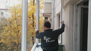 видео Остекление балкона с выносом