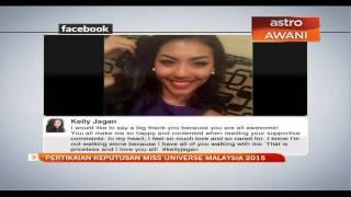Pertikaian keputusan Miss Universe Malaysia 2015