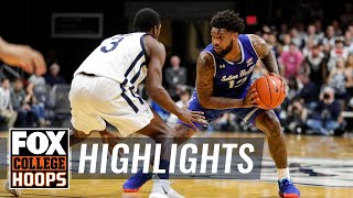 Myles Powell & Kamar Baldwin go back & forth in a Big East battle | FOX COLLEGE HOOPS HIGHLIGHTS